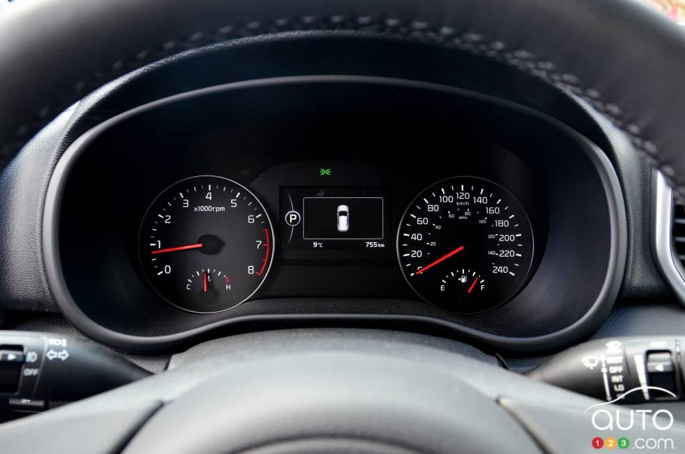 2017 Kia Sportage gauge cluster