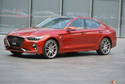 We got first access to test drive the all-new Genesis G70 in South Korea.