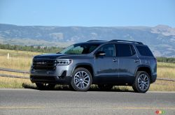 We drive the 2020 GMC Acadia AT4