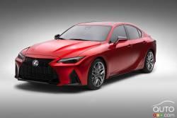 Voici la Lexus IS 500 F Sport Performance 2022