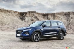 The new 2019 Hyundai Santa Fe is making a bold statement, that's for sure