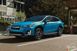 The new 2019 Subaru Crosstrek PHEV