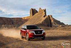 Voici le Nissan Pathfinder 2022