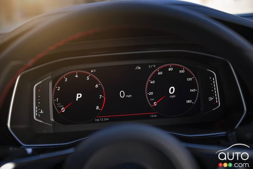 2019 Volkswagen Jetta GLI debuts at the Chicago Auto Show: Speedometer