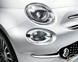 2016 Fiat 500 headlight