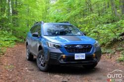 Nous conduisons le Subaru Outback Wilderness 2022