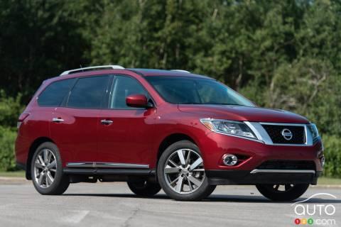 2015 Nissan Pathfinder Platinum AWD pictures