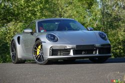 we drive the 2021 Porsche 911 Turbo S