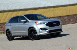 We drive the 2020 Ford Edge ST