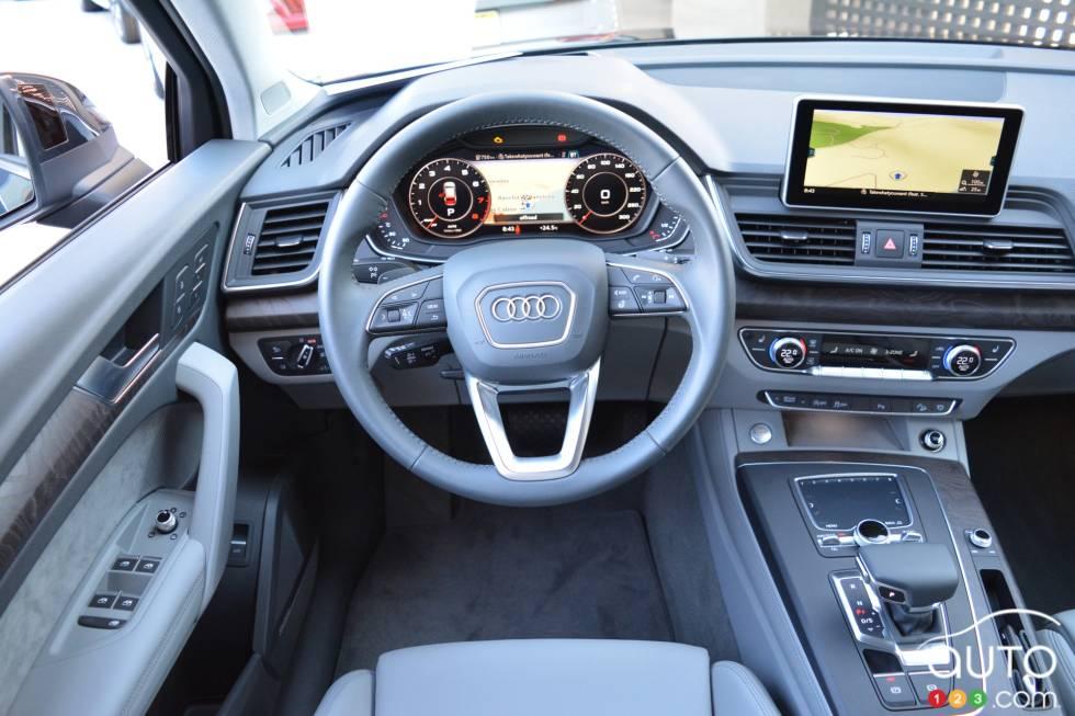 2018 Audi Q5 pictures on Auto123 tv