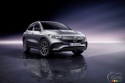 Voici le Mercedes-Benz EQA