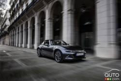 Mazda MX-5 RF: Boutique styling, unique driving pleasure