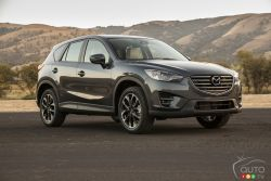 The refreshed Mazda CX-5 makes its world debut at the 2014 Los Angeles Auto Show. Standing at the vanguard of Mazda's new-generation product lineup, CX-5 was the first model to fully adopt SKYACTIV TECHNOLOGY and the KODO—Soul of Motion design language.