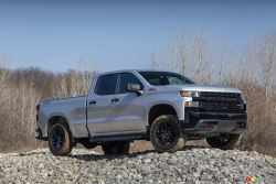 Introducing the 2020 Chevrolet Silverado 1500 Custom Trail Boss