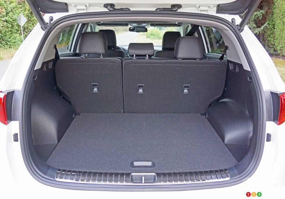 2017 Kia Sportage trunk