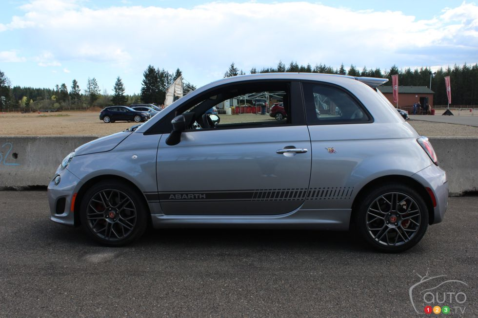We take to the track with the 2019 Fiat Abarh 124 and Abarth 500