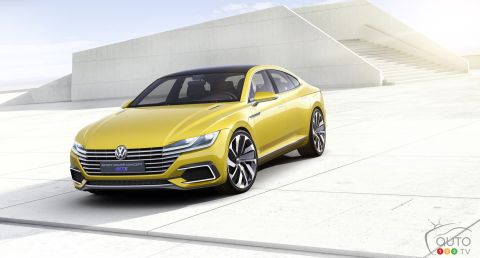 Volkswagen at the 2015 Geneva Motor Show