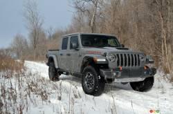 Nous conduisons le Jeep Gladiator Mojave 2021