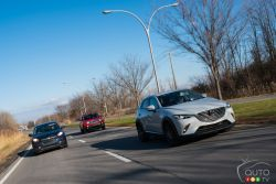 2016 Crossover comparo pictures (2 / 2): The popularity of small crossovers has skyrocketed over the past year or so, which is quite easy to understand. See how the main players fared in our latest comparison test.