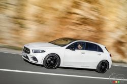 The new Mercedes-Benz A-Class is the latest affordable luxury compact car from Germany.