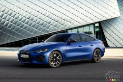 Voici la BMW i4 2022