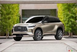 Introducing the Infiniti QX60 Monograph concept