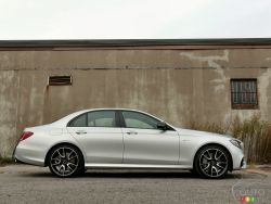 The 2017 Mercedes-AMG E 43, a beast already tamed