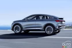 Introducing the Audi Q4 e-tron Sportback concept