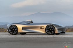 The Prototype 10 Unveiled by INFINITI at Pebble Beach!