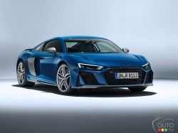 The new 2019 Audi R8