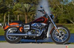 The 2014 model year marks the return of a legend to the Harley-Davidson lineup. The Low Rider benefits from the latest upgrades to the Dyna family (frame, transmission, brakes) while retaining all the thrills that made this nameplate famous, starting with the exquisite rumble of its torque-y and feisty Twim Cam 103. It's an invitation to rock the countryside to the unique beat of the all-American engine.