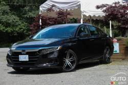 Nous conduisons la Honda Accord hybride 2021