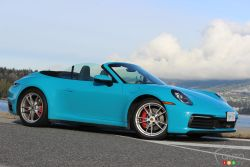 We drive the 2020 Porsche 911 Carrera Cabriolet