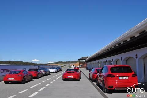 2015 Porsche GTS event in Spain