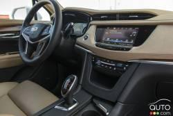 2017 Cadillac XT5 dashboard