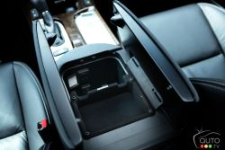 Centre console with storage
