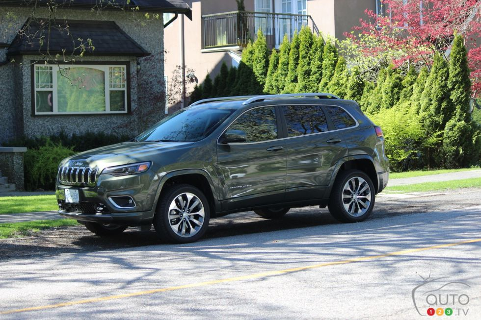 Nous conduisons le Jeep Cherokee Overland 2019