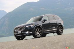 We drive the 2021 Volvo XC90 Recharge