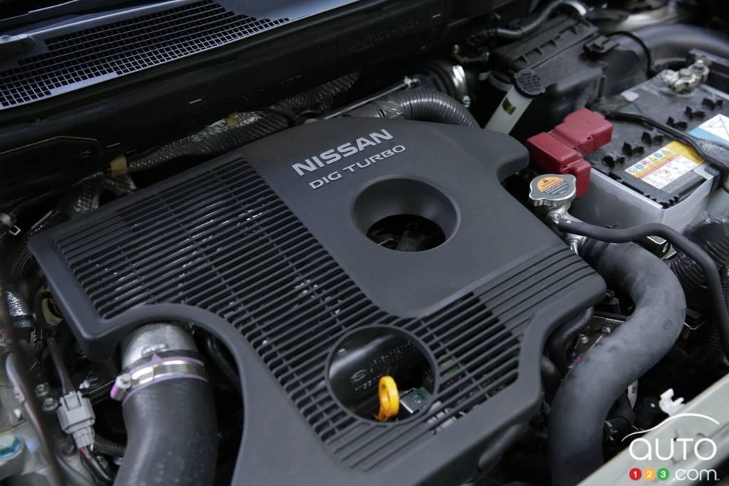Nissan juke engine sizes