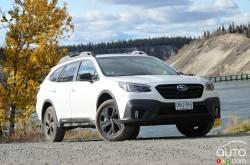 Nous conduisons la Subaru Outback 2020