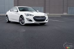 Out for blood - The latest improvements are so significant that the veteran Genesis Coupe has all it takes to stay competitive against its newer rivals.
