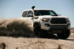 Take a look at the new and rugged 2019 Toyota Tacoma, Tundra and 4Runner TRD Pro.