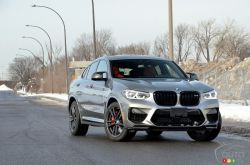 Nous conduisons le BMW X4 M Competition 2021