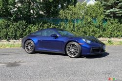 Nous conduisons la Porsche 911 2020
