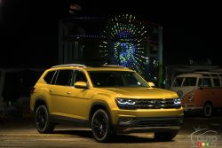 Volkswagen unveils the 2018 Atlas, an all-new seven-passage SUV.