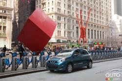 La petite et surprenante Nissan Micra fait le tour de la Grosse Pomme