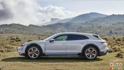 Introducing the 2022 Porsche Taycan Cross Turismo