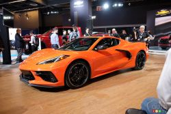 La Chevrolet Corvette Stingray 2020 en primeur canadienne