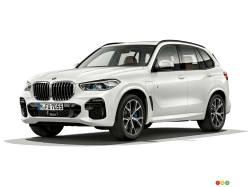 Photos of the BMW X5 xDrive45e