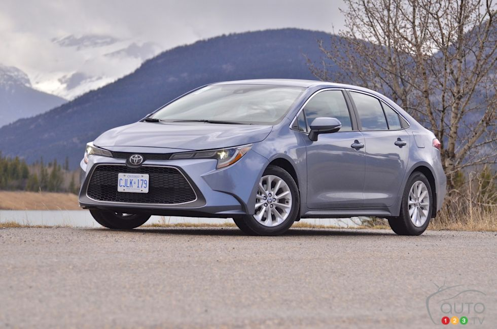 We drive the 2020 Toyota Corolla sedan